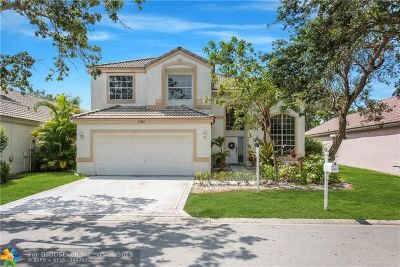 Coral Springs Single Family Home For Sale: 11723 NW 3rd Dr