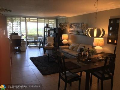 Pompano Beach Condo/Townhouse For Sale: 3090 N Course Dr #704