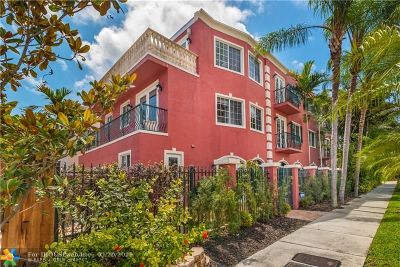 Fort Lauderdale Condo/Townhouse For Sale: 206 NE 11th Ave #206