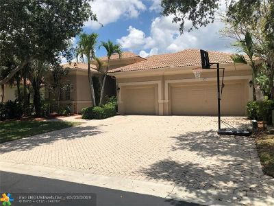 Coral Springs Single Family Home For Sale: 932 NW 123rd Dr