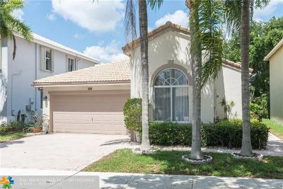 Coconut Creek Single Family Home For Sale: 6529 Sandpiper Dr