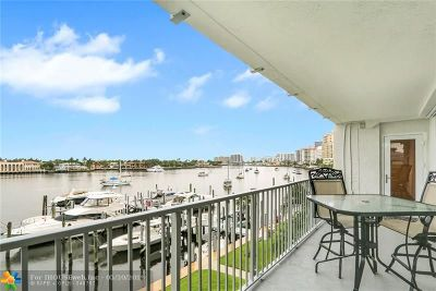 Fort Lauderdale Condo/Townhouse For Sale: 77 S Birch Rd #3A