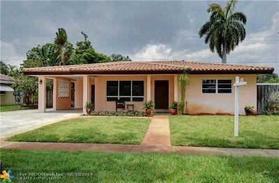 Fort Lauderdale Single Family Home For Sale: 2031 NE 53rd St
