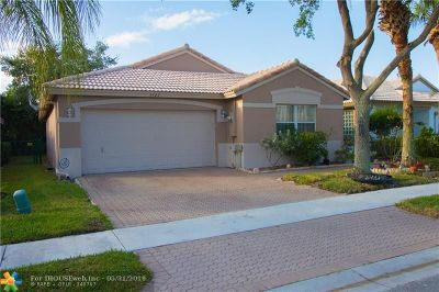 Coral Springs Single Family Home For Sale: 5527 NW 125th Ter