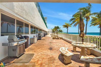 Pompano Beach Condo/Townhouse For Sale: 1370 S Ocean Blvd #2201