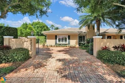 Fort Lauderdale Single Family Home For Sale: 4220 NE 25th Ave