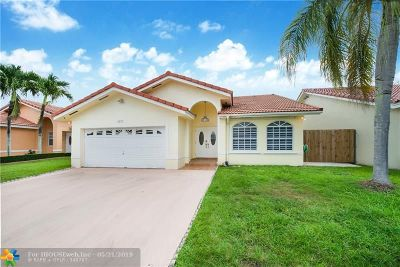 Miami Single Family Home For Sale: 4277 SW 153rd Place