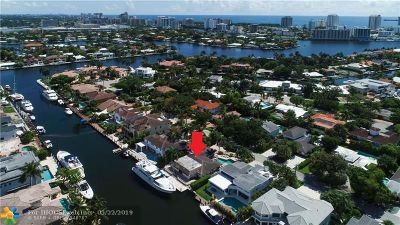 Fort Lauderdale Single Family Home For Sale: 319 Seven Isles Dr