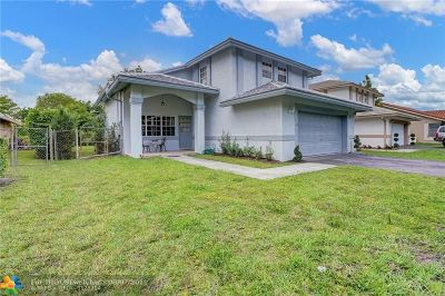 Coral Springs FL Single Family Home For Sale: $425,000