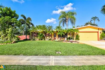 Broward County Single Family Home For Sale: 1700 NW 120th Ter