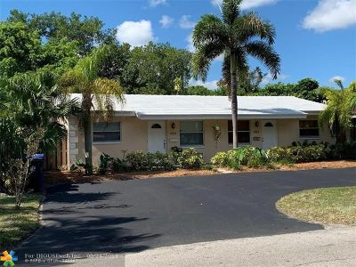 Fort Lauderdale FL Multi Family Home For Sale: $319,000
