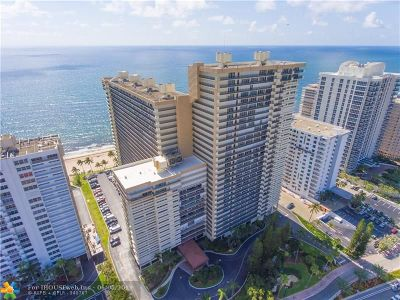 Fort Lauderdale Condo/Townhouse For Sale: 4280 Galt Ocean Dr #16A
