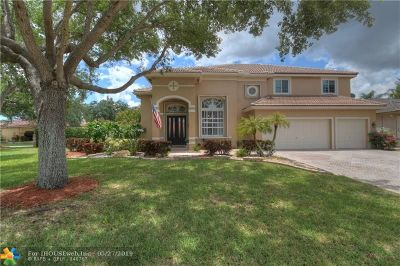 Coral Springs Single Family Home For Sale: 10206 NW 53rd Ct
