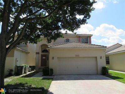 Coconut Creek Single Family Home For Sale: 5834 Eagle Cay Cir