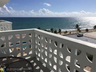 Rental For Rent: 4010 Galt Ocean Dr #709