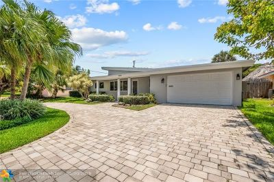 Lighthouse Point Single Family Home For Sale: 3249 NE 28th Ave