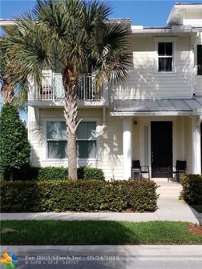 Jupiter Single Family Home For Sale: 3219 Hemingway Dr