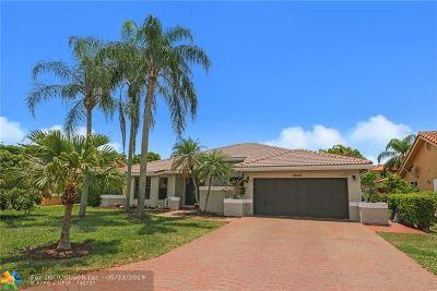 Coral Springs Single Family Home Pending Sale: 4662 NW 59th Way
