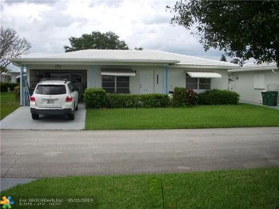 Tamarac Single Family Home For Sale: 7119 NW 72nd Street