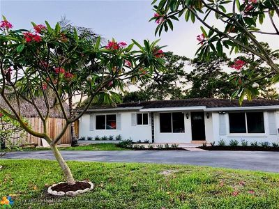 Fort Lauderdale Single Family Home For Sale: 3400 Riverland Rd