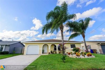 Deerfield Beach Single Family Home For Sale: 3291 SW 3rd St