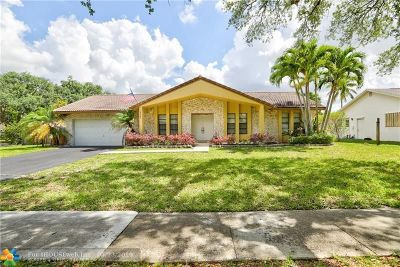 Plantation Single Family Home For Sale: 5181 SW 19th St