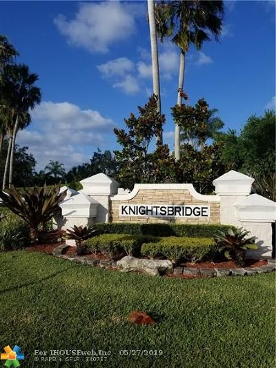 Coral Springs FL Single Family Home For Sale: $380,000