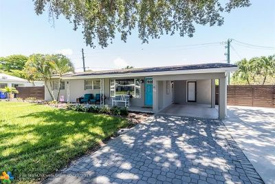 Pompano Beach FL Single Family Home For Sale: $375,000