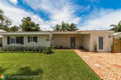 Fort Lauderdale Single Family Home For Sale: 2807 Coral Shores Dr