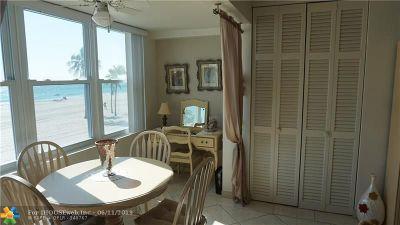 Hollywood Beach Condo/Townhouse For Sale: 1801 S Surf #2D