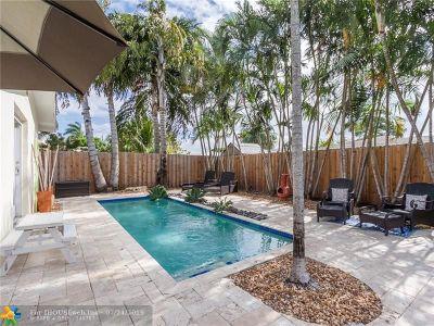 Oakland Park Single Family Home For Sale: 4620 NE 5th Ave