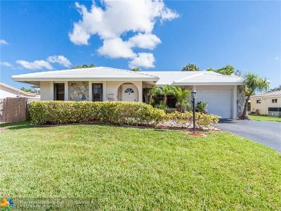 Pompano Beach FL Single Family Home For Sale: $357,000
