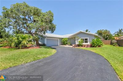 Broward County Single Family Home For Sale: 9160 NW 13 St
