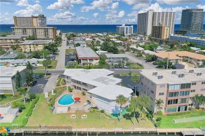 Pompano Beach Condo/Townhouse For Sale: 999 N Riverside Dr #3