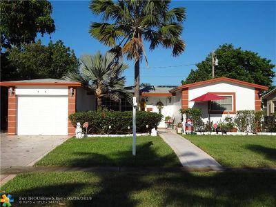 Lauderdale Lakes Single Family Home Backup Contract-Call LA: 3990 NW 36th Ter
