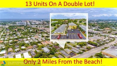 Fort Lauderdale FL Multi Family Home For Sale: $1,750,000