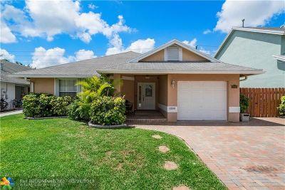Sunrise Single Family Home Backup Contract-Call LA: 12266 NW 30th Mnr