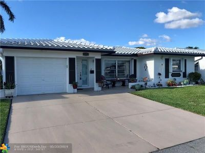 Tamarac Single Family Home For Sale: 8209 NW 58th Pl