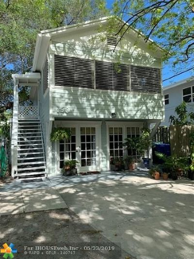 Fort Lauderdale Multi Family Home For Sale: 420 NE 15th Ave