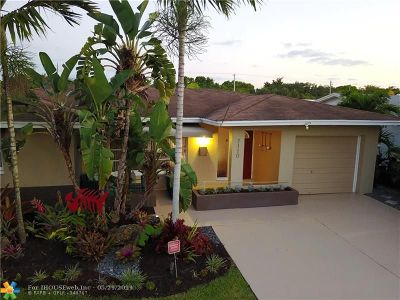 Tamarac Single Family Home Backup Contract-Call LA: 7110 NW 57th Dr