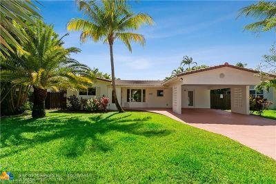 Oakland Park Single Family Home For Sale: 3431 NE 18th Ave
