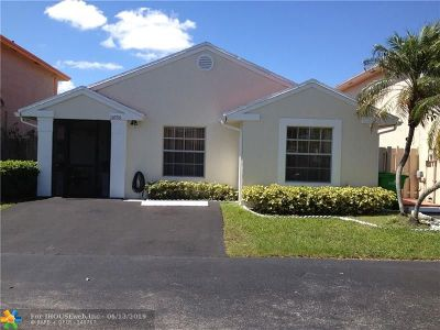 Sunrise Single Family Home For Sale: 10756 NW 37th Pl