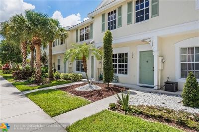 Coral Springs Condo/Townhouse For Sale: 9888 NW 56th Place
