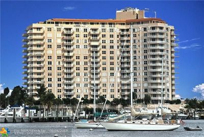 Fort Lauderdale Condo/Townhouse For Sale: 1 Las Olas Cir #1204