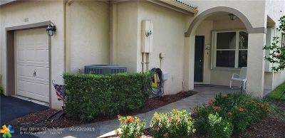 Plantation Condo/Townhouse For Sale: 1880 SW 53 #1880