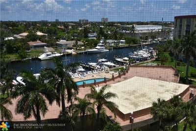 Pompano Beach FL Condo/Townhouse For Sale: $225,000