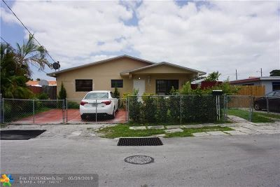 Miami Single Family Home For Sale: 118 NW 48th Ave