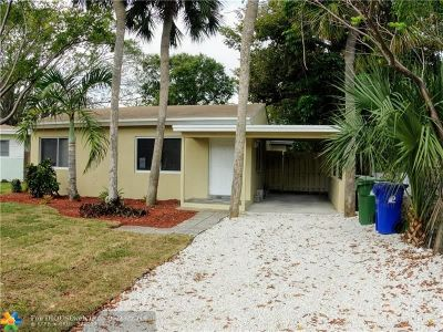 Broward County Single Family Home For Sale: 1209 NW 7th Ave