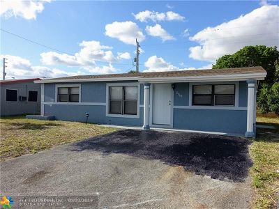 Broward County Single Family Home For Sale: 2940 NW 20th St