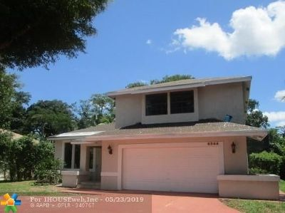 Single Family Home For Sale: 6344 NW 50 Street